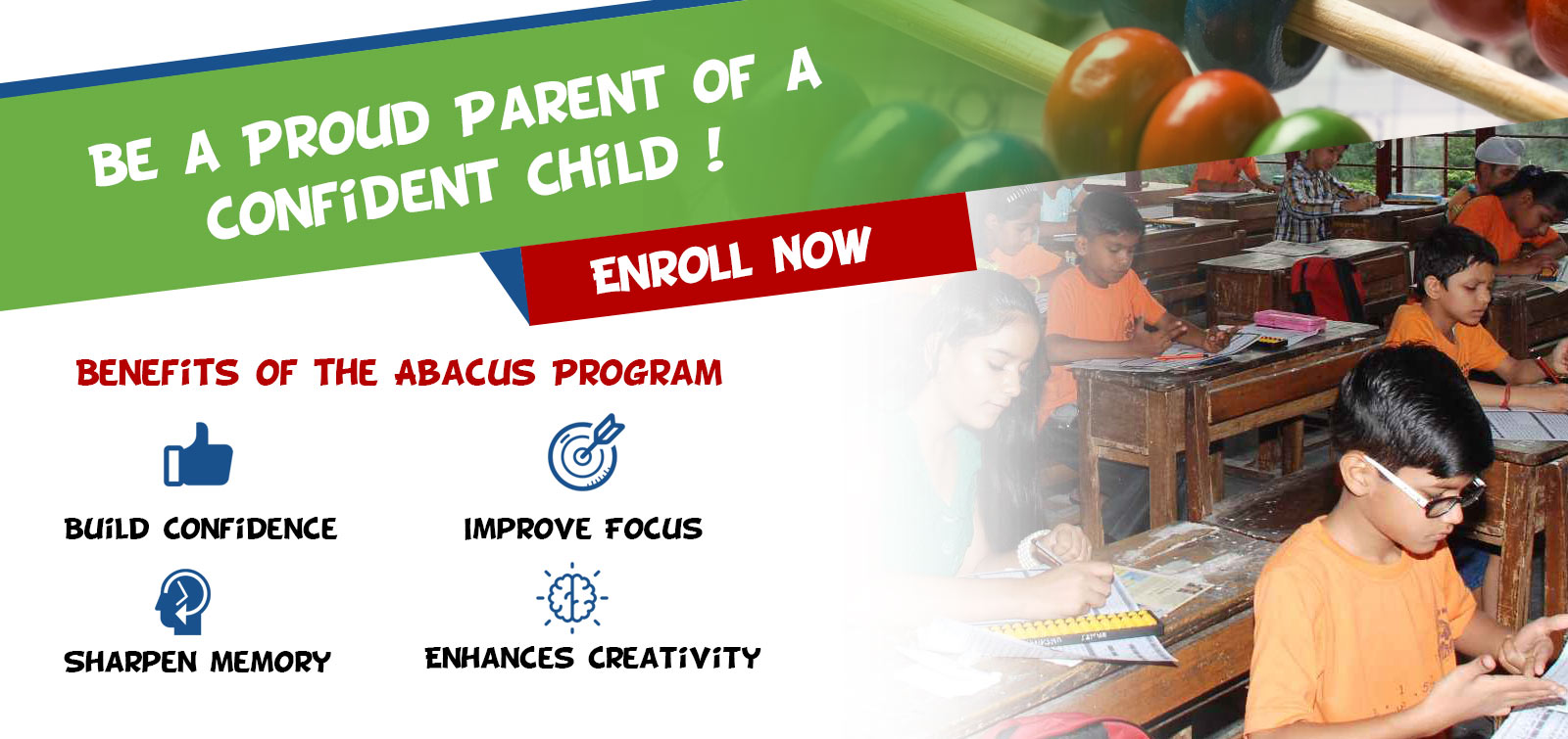 abacus gurgaon best mental development center in gurgaon to enhance the children's intelligence, the best learning time for your child is the age
